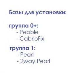 Maxi-Cosi, базы